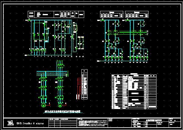 三菱FX系列PLC编程线图接线图图片