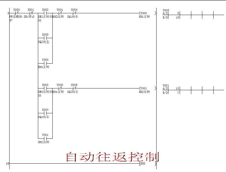 PLC控制电机基本电路图图片