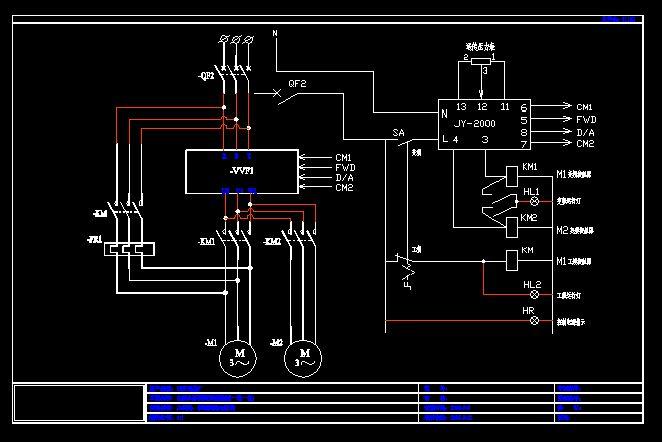 变频调速控制--主回路,控制回路电路