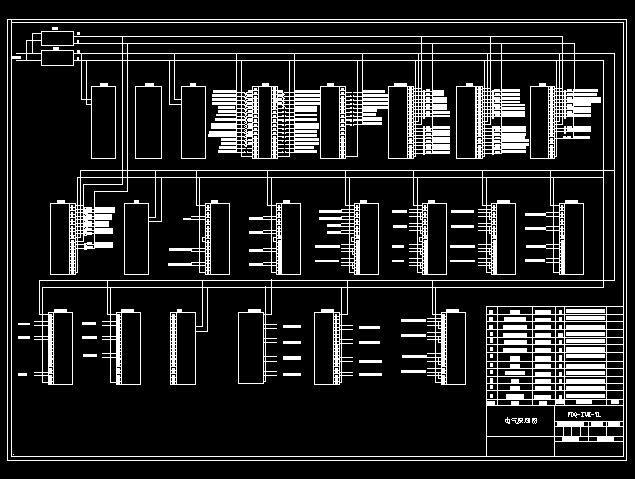 电气plc接线图