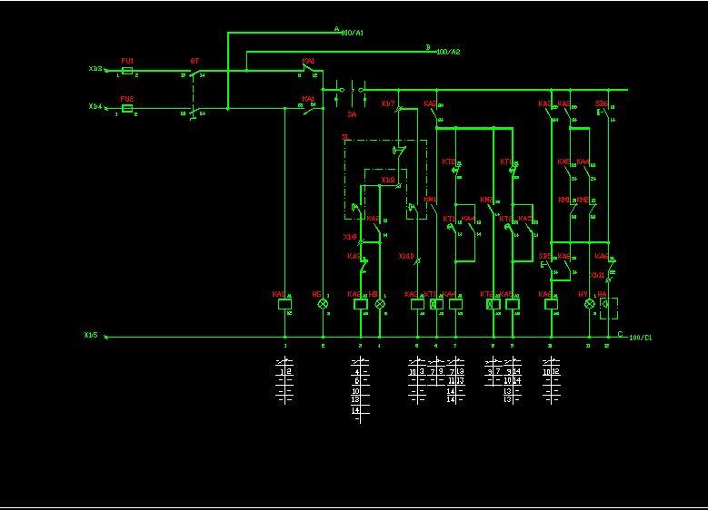 水泵控制原理图