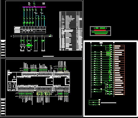 冷库电气plc控制系统图